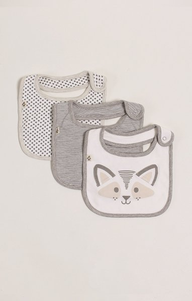View larger image of Drool Bibs - 3 Pack - Unisex