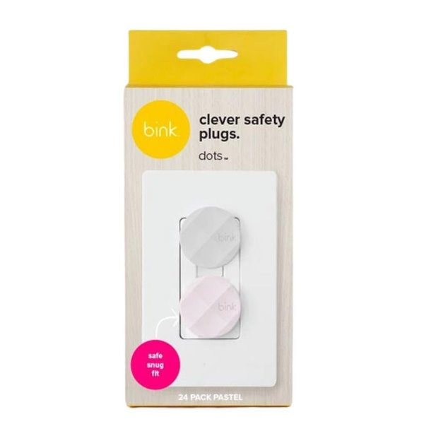 View larger image of Dots Safety Plugs - 24 Pack