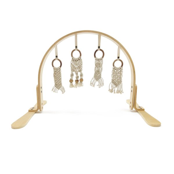 View larger image of Birch Macrame Play Gym