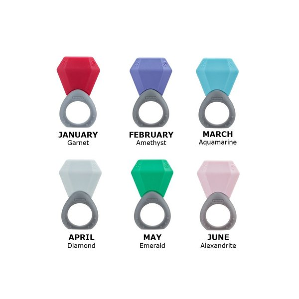 View larger image of Birthstone Ring Teether - November