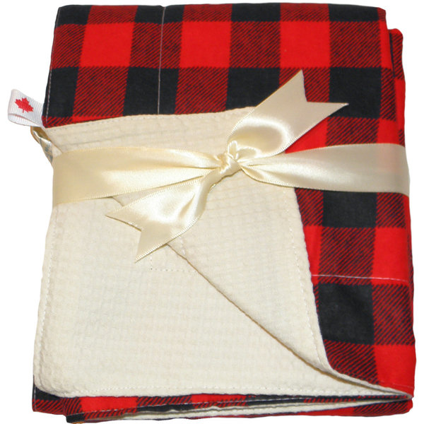 View larger image of Blanket Black & Red Check