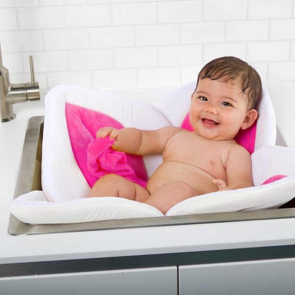 View larger image of Blooming Baby Bath Lotus - Pink