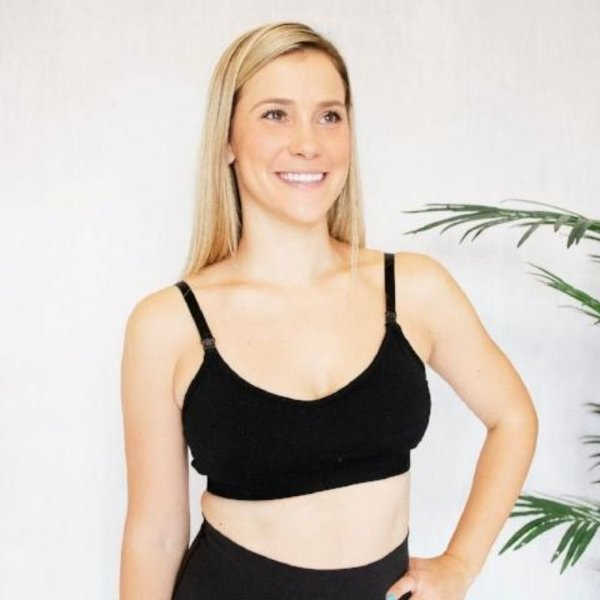 View larger image of The Stretch & Sweep Bra - Black
