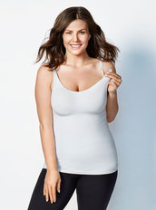 Body Silk Nursing Cami - White
