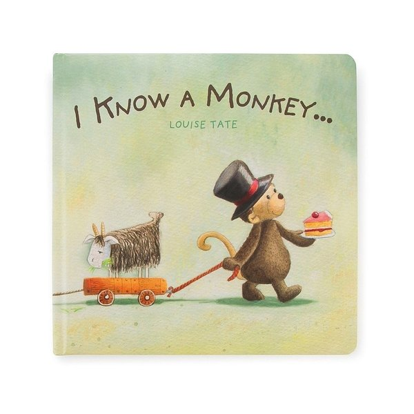 View larger image of I Know A Monkey Book