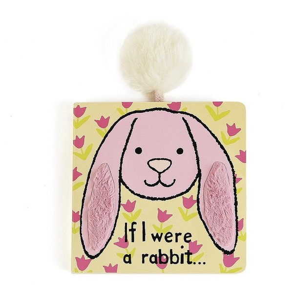 View larger image of If I Were A Rabbit Board Book - Pink