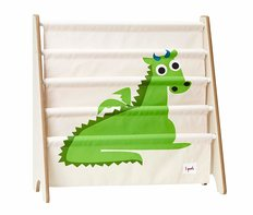 3Sprouts Book Rack - Green Dragon