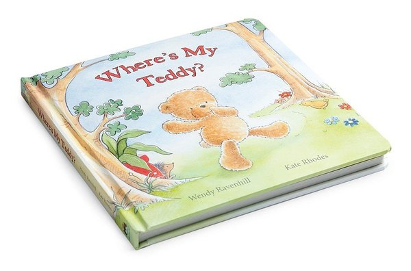 View larger image of Where's My Teddy Book