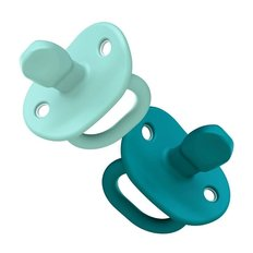 Jewl Orthodontic Silicone Pacifier - 2 Pack
