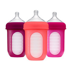 NURSH Silicone Bottle 3 Pack - 8oz