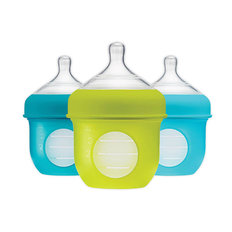 NURSH Silicone Bottle 3 Pack - 4oz