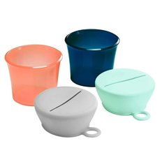 Snug Snack Cups with Lids -2 Pack