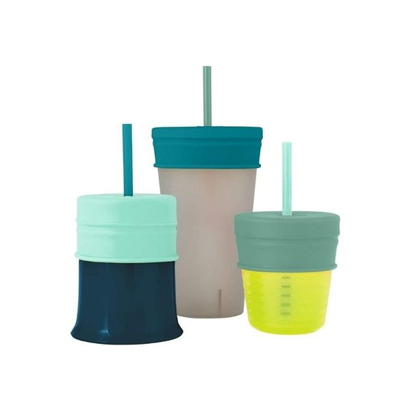 View larger image of Snug Straw Lids - 3 Pack