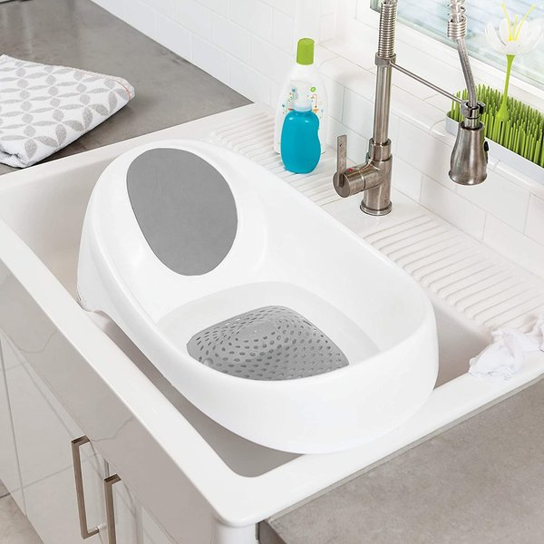 View larger image of Soak 3-Stage Bathtub - Grey/White