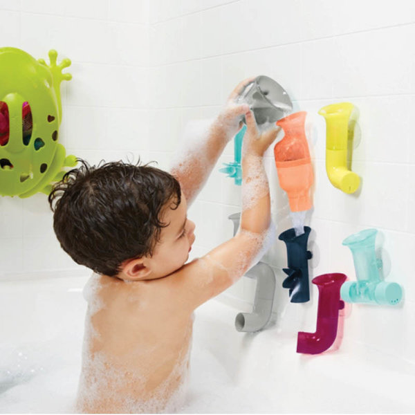 View larger image of Tubes Building Bath Toy