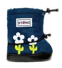 Booties - Lime Flower