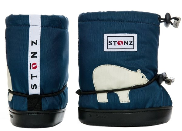 View larger image of Booties - Navy Polar Bear