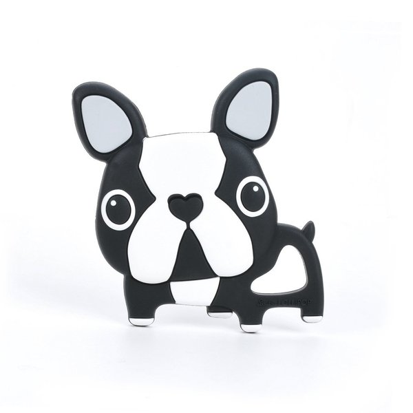 View larger image of Silicone Teether - Boston Terrier Dog
