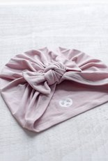 Bow Turban - Blush