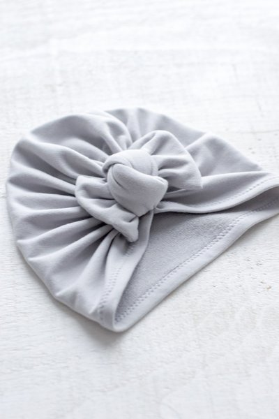 View larger image of Bow Turban - Grey
