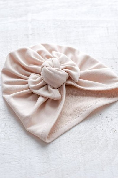 View larger image of Bow Turban - Nude