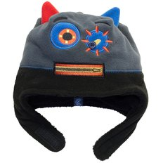 Boy Monster Hat-Black-M