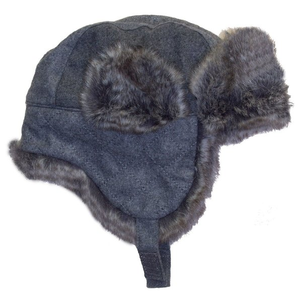 View larger image of Boy Trapper Hat - Grey