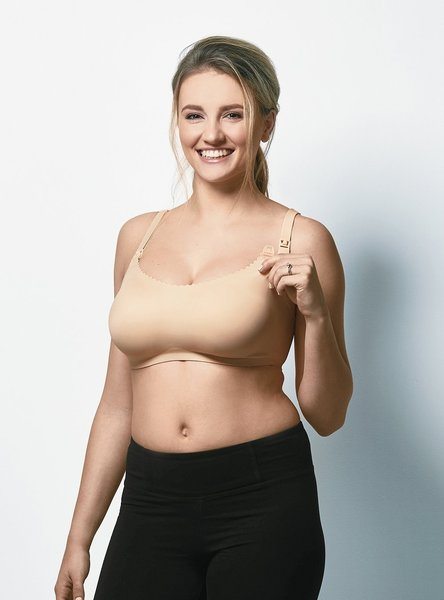 View larger image of Invisible Nursing Bra - Bare