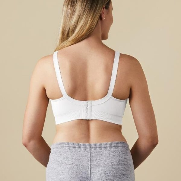 View larger image of Body Silk Seamless Nursing Bra - White