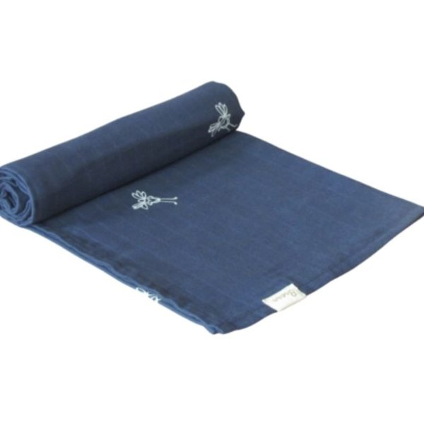 View larger image of Organic Muslin Cotton Swaddle