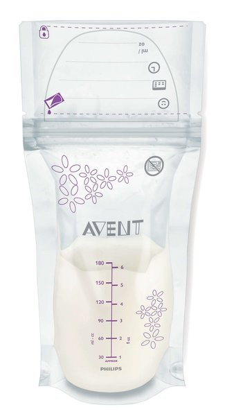 View larger image of Breast Milk Storage Bags-25pk