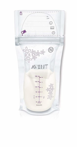 View larger image of Breast Milk Storage Bags, 50ct