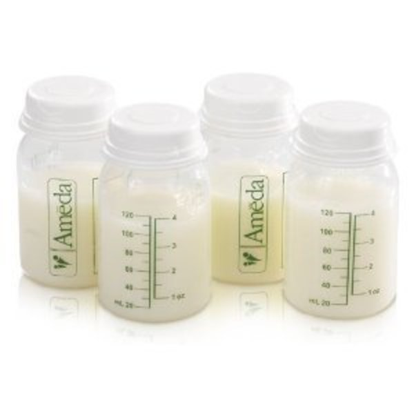 View larger image of Breast Milk Storage Bottles (4 Pack)