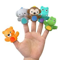 Poppin' Puppet 5 Count Finger Puppets