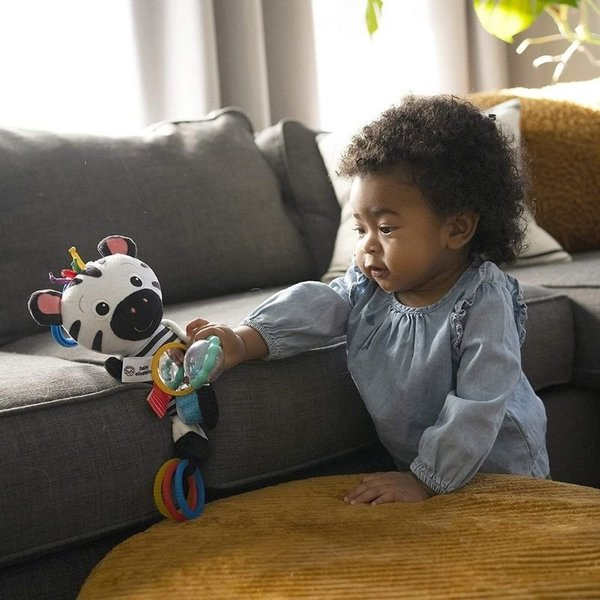 View larger image of Zen's Sensory Play Plush Stroller Activity Toy
