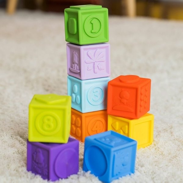 View larger image of Kaledio-Cube 9 Stack & Squeeze Blocks