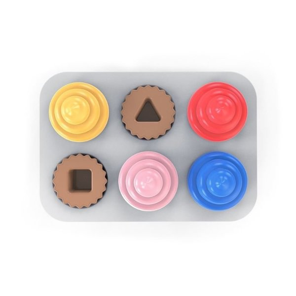 View larger image of Sort & Sweet Cupcake Shape Sorting Activity Toy