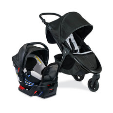 B-Free + B-Safe Gen2 FlexFit+ Travel System - Clean Comfort