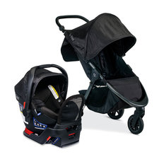 B-Free + B-Safe Gen2 FlexFit+ Travel System - Midnight