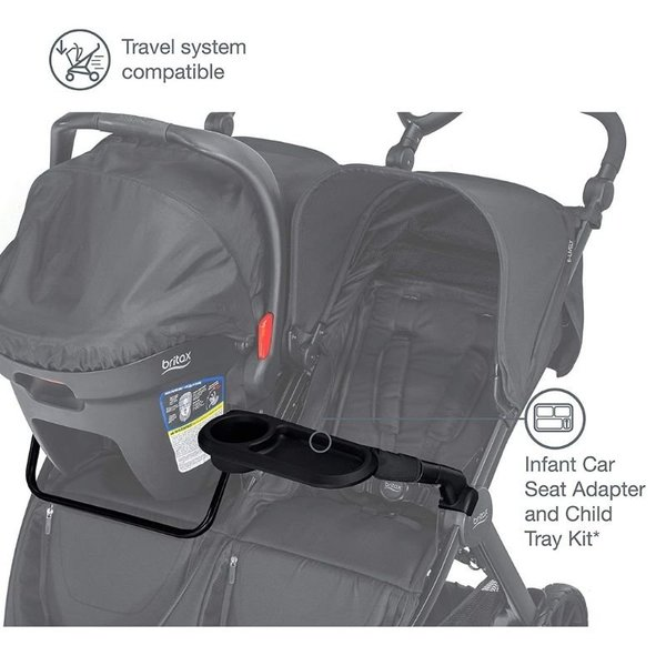 View larger image of B-Lively Double Adapter and Child Tray