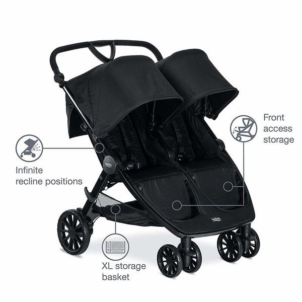View larger image of B-Lively Double Stroller