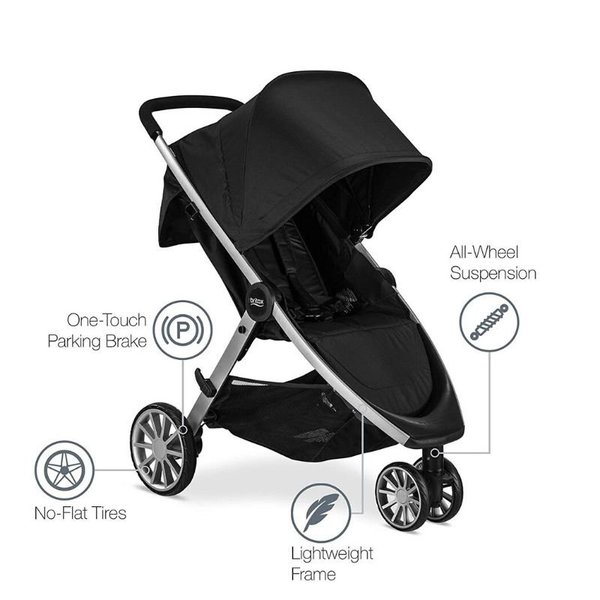 View larger image of B-Lively Single Stroller