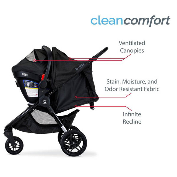 View larger image of B-Free Premium & Endeavours Travel System - Clean Comfort