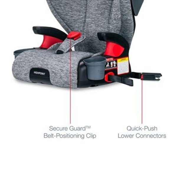 View larger image of Highpoint 2-Stage Belt-Positioning Booster Seat