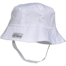 Bucket Hat-White-S