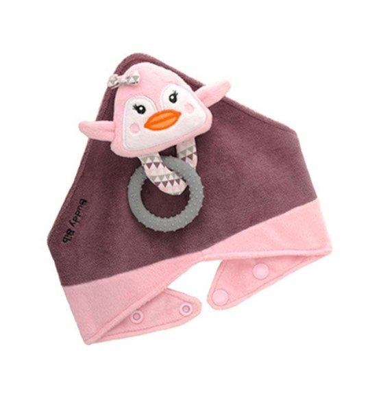 View larger image of The Buddy Bib - Pink Penguin