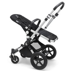 Cameleon3 Plus Stroller Base - Aluminum / Black