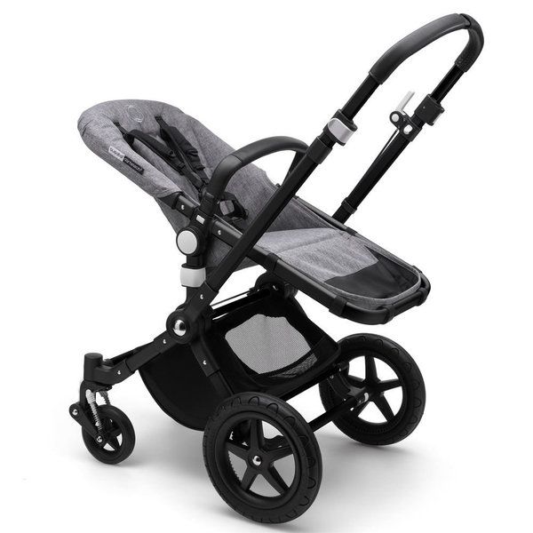 View larger image of Cameleon3 Plus Stroller Base - Black/Grey Melange