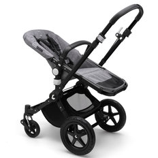 Bugaboo Cameleon3 Plus Stroller Base - Black/Grey Melange