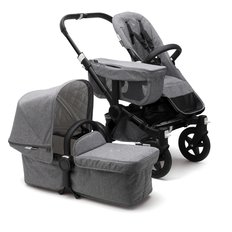 Bugaboo Donkey2 Mono Classic Complete Stroller - Black/Grey